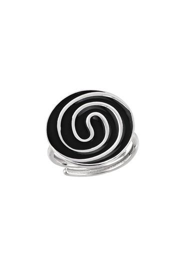 AC Mühür Koleksiyonu: Çatalhöyük Spiral Motifli Gümüş Yüzük Argentum Concept